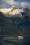 Αλάσκα & βάρκα Στοκ Φωτογραφία