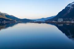 Αλάσκα μέσα στη μετάβαση Στοκ Εικόνες