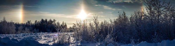 Αλλά στο φωτοστέφανο ουρανού, φωτοστέφανος Στοκ φωτογραφία με δικαίωμα ελεύθερης χρήσης