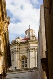 Αλέα αρχαίο Mdina στοκ φωτογραφίες με δικαίωμα ελεύθερης χρήσης