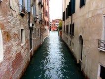 Αλέα νερού της Βενετίας Στοκ Φωτογραφία
