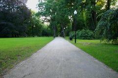 Αλέα πάρκων Στοκ Εικόνες