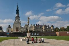 Αλέα σε Czestochowa Στοκ εικόνες με δικαίωμα ελεύθερης χρήσης