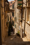 Αλέα σε Dubrovnik Στοκ εικόνα με δικαίωμα ελεύθερης χρήσης