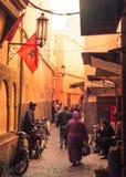 Αλέα στο Μαρακές Στοκ φωτογραφία με δικαίωμα ελεύθερης χρήσης