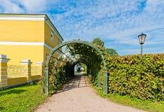 Αλέα στο πάρκο Kuskovo. Μόσχα. Στοκ Φωτογραφία