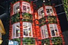 Αλέα Leavesden Λονδίνο Diagon ΓΥΡΟΥ του HARRY POTTER Στοκ Εικόνα