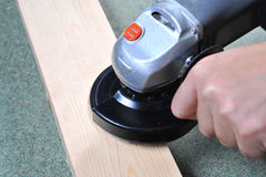 Αλέθοντας ξύλο Στοκ Εικόνες