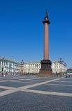 Αλέξανδρος Column, Άγιος Πετρούπολη Στοκ εικόνα με δικαίωμα ελεύθερης χρήσης