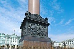 Αλέξανδρος Column στο τετράγωνο παλατιών Στοκ Φωτογραφίες
