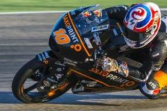 Αλέξης MASBOU Moto3 Grand Prix Movistar Aragà ³ ν Στοκ εικόνες με δικαίωμα ελεύθερης χρήσης