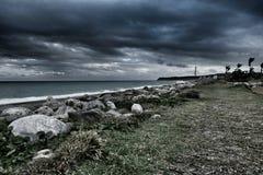 Αδέξια παραλία στοκ φωτογραφία με δικαίωμα ελεύθερης χρήσης