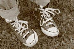 Αδέξια πόδια Στοκ φωτογραφία με δικαίωμα ελεύθερης χρήσης