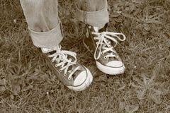 Αδέξια πόδια Στοκ εικόνα με δικαίωμα ελεύθερης χρήσης