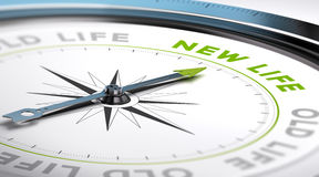 Αλλαγή για μια νέα ζωή απεικόνιση αποθεμάτων