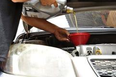 Αλλαγή πετρελαίου στοκ φωτογραφίες με δικαίωμα ελεύθερης χρήσης