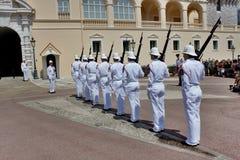 Αλλαγή της βασιλικής φρουράς Στοκ φωτογραφία με δικαίωμα ελεύθερης χρήσης