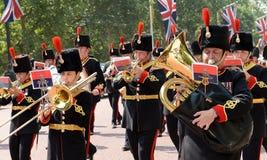 Αλλαγή της φρουράς, Λονδίνο στοκ εικόνα