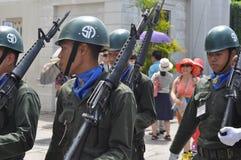 Αλλαγή της φρουράς Στοκ φωτογραφία με δικαίωμα ελεύθερης χρήσης