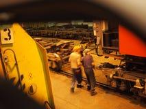 Αλλαγή των υπερσιβηρικών βαγονέτων Στοκ φωτογραφία με δικαίωμα ελεύθερης χρήσης