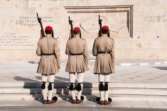 Αλλαγή των φρουρών Στοκ Φωτογραφία