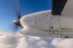 αλλαγμένος ουρανός μορφών σχεδίου χρωμάτων αεροσκαφών αεροπλάνο Στοκ φωτογραφία με δικαίωμα ελεύθερης χρήσης