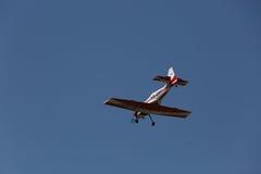 αλλαγμένος ουρανός μορφών σχεδίου χρωμάτων αεροσκαφών αεροπλάνο Στοκ φωτογραφίες με δικαίωμα ελεύθερης χρήσης