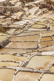 Αλατισμένα ορυχεία περουβιανές Άνδεις Cuzco Περού Maras Στοκ Φωτογραφία
