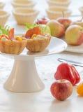 Αλατισμένα tartlets με peperoni Στοκ Εικόνες
