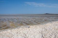 Αλατισμένη λίμνη στοκ φωτογραφίες με δικαίωμα ελεύθερης χρήσης