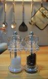 αλατισμένος δονητής πιπεριών Στοκ φωτογραφία με δικαίωμα ελεύθερης χρήσης