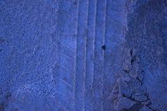 Αλατισμένο ίχνος στην άμμο Στοκ φωτογραφία με δικαίωμα ελεύθερης χρήσης