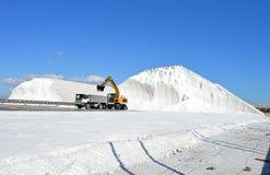 Αλατισμένο βουνό Στοκ εικόνες με δικαίωμα ελεύθερης χρήσης
