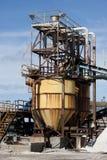 Αλατισμένο εργοστάσιο Στοκ Εικόνες