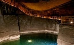 Αλατισμένο ορυχείο Κρακοβία Wieliczka στοκ εικόνες