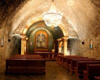 Αλατισμένο ορυχείο Κρακοβία Wieliczka στοκ εικόνες με δικαίωμα ελεύθερης χρήσης