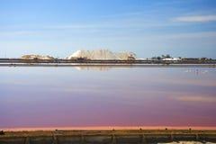 Αλατισμένο ορυχείο στη Σαρδηνία Στοκ Εικόνες