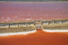 Αλατισμένο ορυχείο στη Σαρδηνία Στοκ εικόνα με δικαίωμα ελεύθερης χρήσης