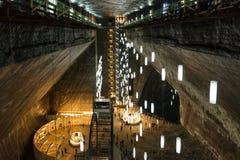 Αλατισμένο ορυχείο Turda αλυκών Στοκ Εικόνες