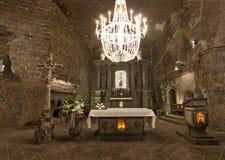 Αλατισμένο ορυχείο Wieliczka (13ος αιώνας) Στοκ Εικόνες