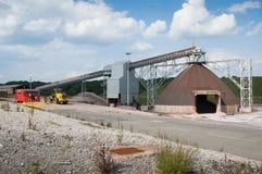 Αλατισμένο ορυχείο Winsford Στοκ εικόνες με δικαίωμα ελεύθερης χρήσης