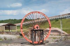 Αλατισμένο ορυχείο Winsford Στοκ Φωτογραφία