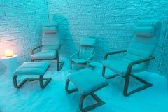 Αλατισμένο δωμάτιο Στοκ εικόνες με δικαίωμα ελεύθερης χρήσης