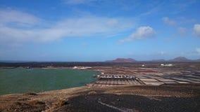 Αλατισμένο Lanzarote Στοκ Φωτογραφία