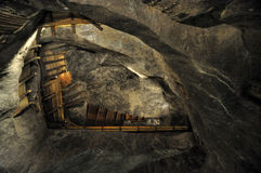αλατισμένο wieliczka ορυχείων Στοκ φωτογραφία με δικαίωμα ελεύθερης χρήσης