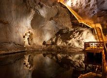αλατισμένο wieliczka ορυχείων στοκ φωτογραφίες