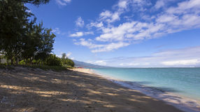 Αλατούχος παραλία Λα, νησί συγκέντρωσης Λα, Γαλλία Στοκ φωτογραφία με δικαίωμα ελεύθερης χρήσης