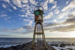 Αλατούχος παραλία Λα, νησί συγκέντρωσης Λα, Γαλλία Στοκ Φωτογραφία