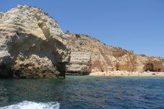 αλατούχο tavira της Πορτογαλίας ελών του Αλγκάρβε Στοκ Εικόνα
