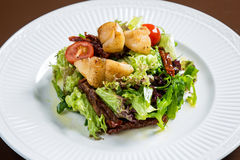 6α λαχανικά σαλάτας οστράκων Στοκ Εικόνες